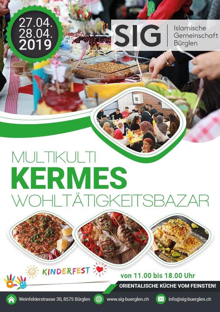 Wohltätigkeitsbazar Kermes 2019